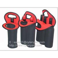 Wholesale Wine bottle neoprene cooler handbag selection, tailor made neoprene bottle coolers, from china suppliers