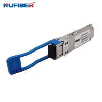 Wholesale compatible Huawei 100G QSFP28 LR4 20KM LC receptacle DDM 1310nm Optical Transceiver Module from china suppliers