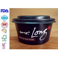Wholesale High grade quality disposable take away kraft paper salad bowl match with lids from china suppliers