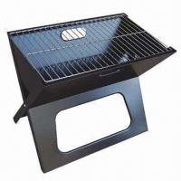 China Portable Charcoal BBQ Grill, Available in Black on sale