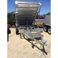 Wholesale 5 Stage Ram 5 Ton 10x5 Galvanised Tandem Tipper Trailers 3200KG from china suppliers