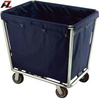 Wholesale Hotel Heavy Stainless Steel Linen Trolley-Housemaid Trolley from china suppliers