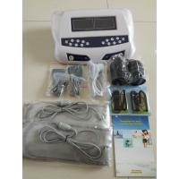 Quality Two LCD display detox foot spa , detox machine for feet with optional massage slipper for sale