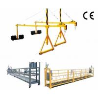 Buy cheap 800 Rated Load Rope Steel Suspended Window Cleaning Platform with Dipping Zinc from wholesalers