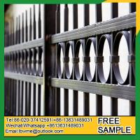 Wholesale AvonPark iron fence pickets Boston devorative top railing from china suppliers
