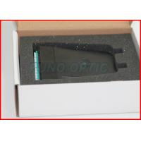 Wholesale Pre - Terminated MPO Patch Panel 12 Fibers , Multimode OM3 Aqua ABS Cassette Box from china suppliers