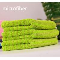 Wholesale Microfiber Twisted Coral Fleece Multifunction Car Cleaning Cloth 300gsm 30 * 40cm 450gsm from china suppliers