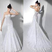 Wholesale 2011 New Style Wedding Gown (PF10065) from china suppliers