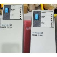 China Emerson Westinghouse Ovation WH5-2FF 1X00416H01 Ovation Power Supply module on sale