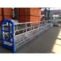 Wholesale Exterior Construction Scaffold Working Platforms / Suspended Wire Rope Platform from china suppliers