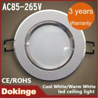 Wholesale High Brightness Epistar chip D240*H80mm 18W LED Ceiling Recessed Downlights 1800lm from china suppliers