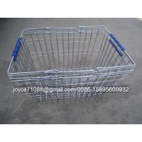 China Colored Chain Shops / Supermarket Shopping Baskets ISO9001 Certification on sale