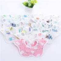 Buy cheap Reusable Baby Girl Dribble Bibs / Washable Durable Muslin Baby Clothes from wholesalers