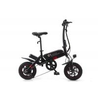 Wholesale Portable Lithium Electric Bike , Small Foldable Electric Bike With Aluminum Alloy Wheel from china suppliers