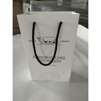 Wholesale Promotional Printed Paper Shopping Bags , Printed White Paper Bags With Handles from china suppliers