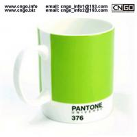 Wholesale Export PANTONE colors fashion cup 376.numbers love for the ceramic mug from china suppliers
