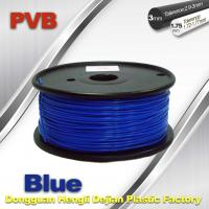 Wholesale 3d Printer Metal Filament , Blue Polishing PVB Fiament 1.75mm from china suppliers