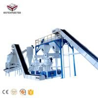 China Professional Supplier 1-20t/h Wood pellet complete production line on sale