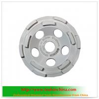 China diamond grinding cup wheels for concrete on sale