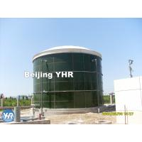 Wholesale 500 KN / Mm Glass Coated Steel Tanks , Water Storage 50000 Gallon Tank from china suppliers