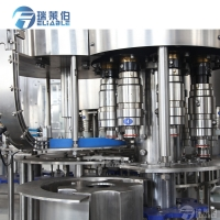 Wholesale Dia 110mm 8000BPH Mineral Water Bottle Filling Machine from china suppliers