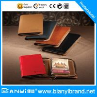 Wholesale Journal daily leather cover loose leaf notebook from china suppliers