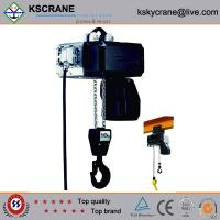 Buy cheap Attractive and reasonable price Low Clearance Double Speed Electric Chain Hoist from Wholesalers