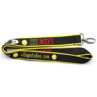 Wholesale Polyester patterned woven neck lanyards with jacquard logo,China factory woven neck straps from china suppliers