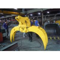 Buy cheap Light Weight Wood Grapple Attachment / Timber Grapple Anti Clockwise from Wholesalers