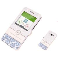 Quality Cute PU Leather Samsung A7 Phone Covers with Stand and Cartoon Print for sale