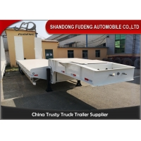 Wholesale 3 Axles 13M Excavator Transport Low Bed Semi Trailer from china suppliers