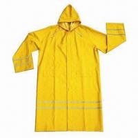 Wholesale Raincoat, customized logos and colors are accepted from china suppliers
