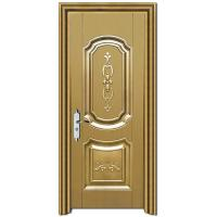 China hpl samples of gold color fire rated hospital door,steel security door on sale