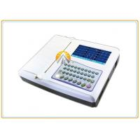 China 12 Leads Waveforms Portable ECG Machine 7 Inch TFT LCD Touch Screen 12 Channel on sale