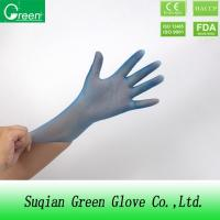 Wholesale Blue Disposable P Free Powder Free Vinyl Gloves Food Safe Small Size Durable from china suppliers