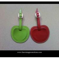 New Products for 2015 Factory Customized Leather Luggage Tag with your logo