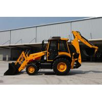 Wholesale Low price hydraulic 1m3 bucket backhoe loader AC and Joystick WZ30-25 from china suppliers