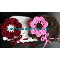 Wholesale 100% hand  Crochet beanie kufi hats from china suppliers