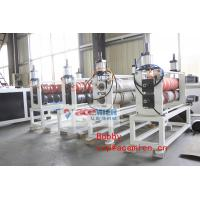 Wholesale Automatic Plastic Roof Sheet Machine With Conical Double Screw Extruder 55kw / 110kw from china suppliers