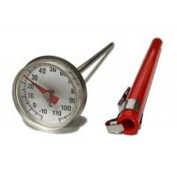 Wholesale Stainless Small Dial Pocket Milk Frothing Thermometer With Magnifying Lens from china suppliers