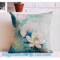 China OEM design digital print 3d satin cushion cover custom cushion cover,Hot sale good quality cushion cover wholesale,vinta on sale