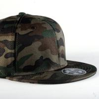 Wholesale Adults Camouflage Snapback Cap , Cool Hip Hop Fitted Caps Without Logo from china suppliers