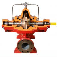 single stage double suction split case fire fighting pump