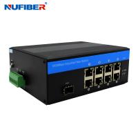 Wholesale DC48V Managed Industrial Ethernet Switch 8 Port NF518GMP-SFP from china suppliers