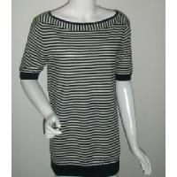Wholesale Ladies Stripe Knitted Pullover, Cotton Sweater (SFY-A053) from china suppliers