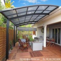 Wholesale UV Protection Polycarbonate Patio Cover Designs/aluminum patio cover/patio awnings/terrace cover/polycarbonate patio from china suppliers