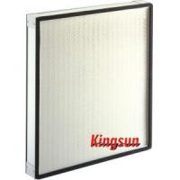 China Panel H13 HEPA Filter (low resistance) on sale