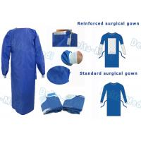 Wholesale SMS Disposable Surgical Gown With Knitted Cuff Environmentally Friendly from china suppliers
