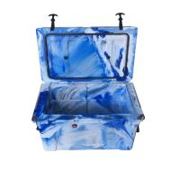 China Professional insulated portable fishing ice food, wine and water cooler box on sale