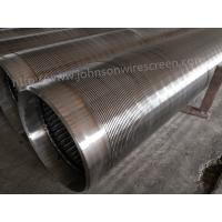 Wholesale 273mm Diameter Deep Well Water Well Screen 3 Meters Length With Welded Rings from china suppliers